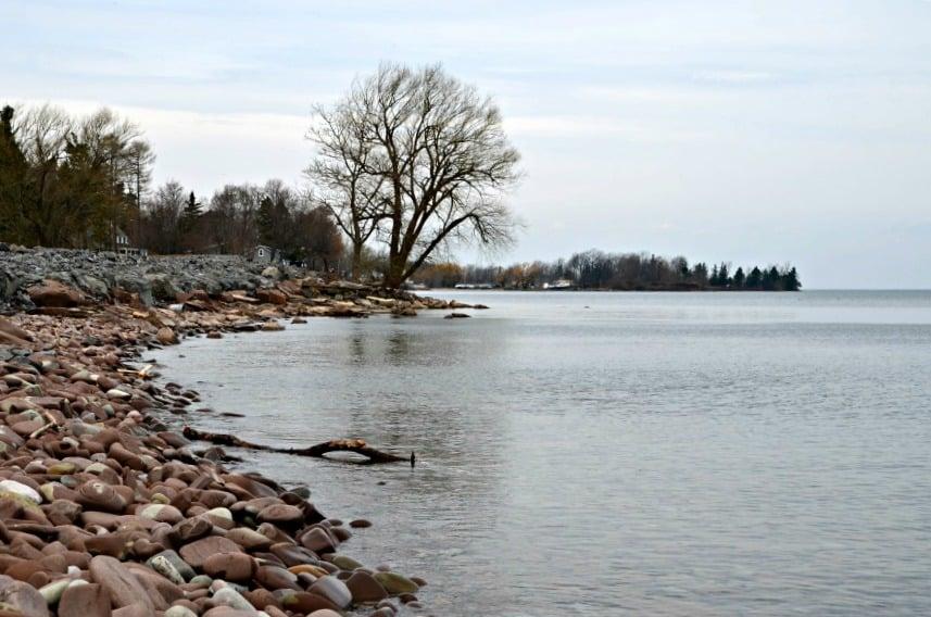 Lake Ontario Beach Glass Hunting