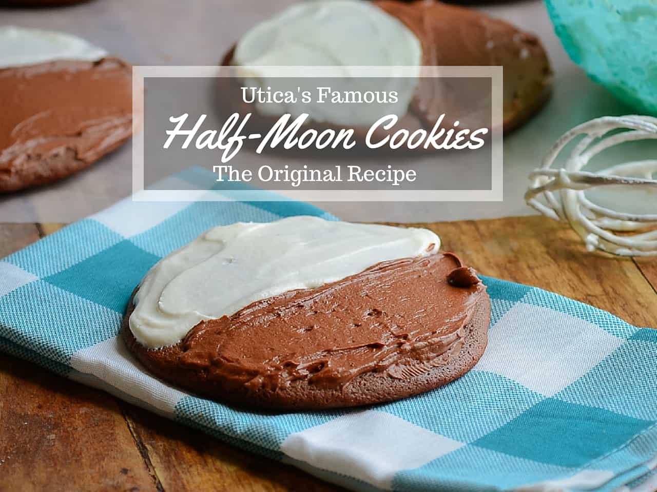 Half Moon Lemon Cake Recipe